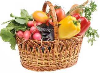 Корзина с продуктами «Корзинка Витаминов»