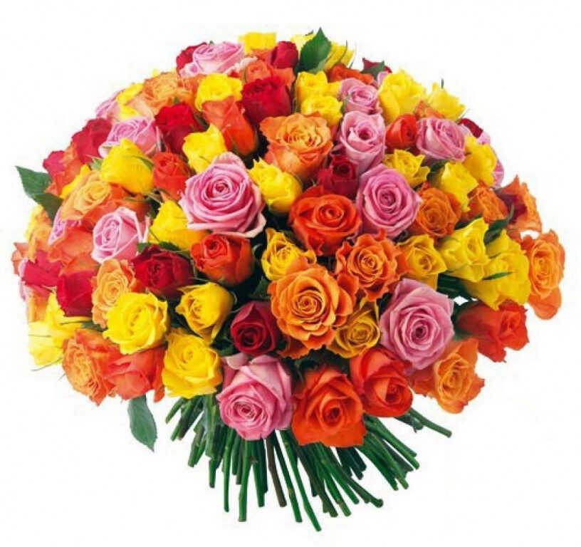 Букет «Большой букет роз»