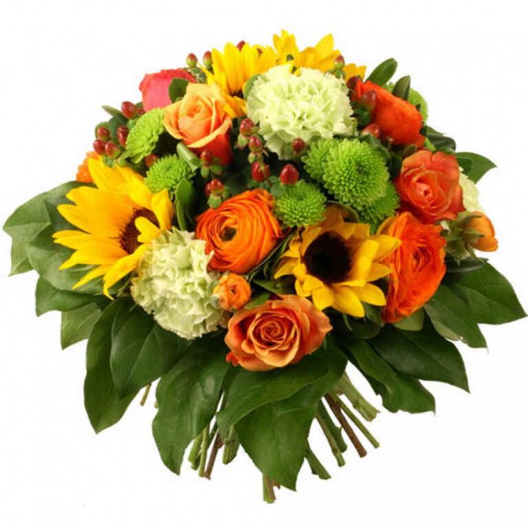 Букет «Мелодия цветов»
