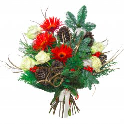 Букет «Зимний цвет»
