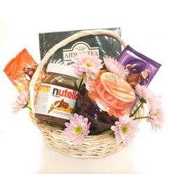 Корзина с продуктами «Чайная корзина»