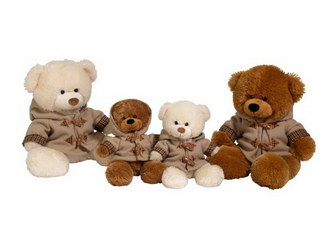 Мягкая игрушка «Набор игрушек Веселая компания»