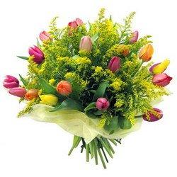 «Весна в душе» Очаровательный весенний букет, пробуждающий нежные чувства. Доставка в Торбеево.