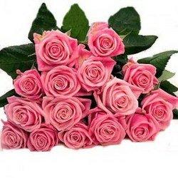 «Элегантность» Нежный букет розовых роз. Доставка в Ретинское (г.Полярный).