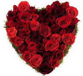 Букет «Страстное сердце»
