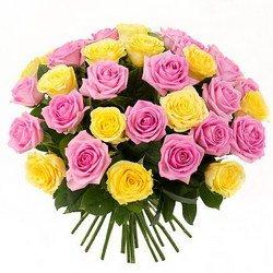 Букет «Первоклассный дуэт роз»