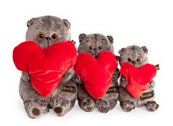 Мягкая игрушка «Басик с сердцем»