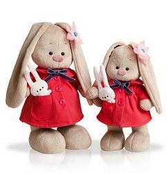 Мягкая игрушка «Зайка Ми с зайкой»