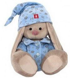 Мягкая игрушка «Зайка Ми в голубой пижаме»