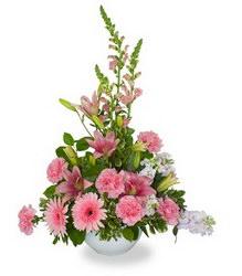 «Любовь и нежность» Нежно-розовая композиция для близкого человека. Набор необыкновенных цветов с тонким ароматом