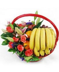 «Дарю Вам счастье» Цветы и фрукты в одном подарке. Дарите с нами счастье. Это так легко.