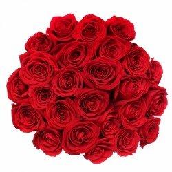 Букет «Свежие красные розы»