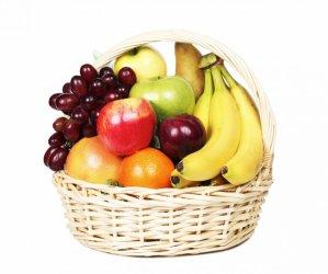 Корзина с продуктами «Фруктовое лукошко»