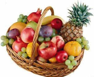 Корзина с продуктами «Заморский фрукт»