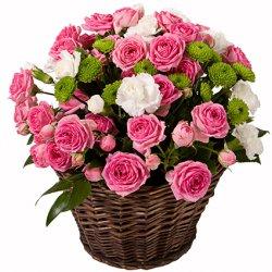 «Нежное прикосновение» Нежность... Она распускается в душе цветком... Жить с нежностью в душе так приятно. А как приятно с утра или вечером получить цветочное послание с...