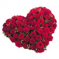 «Сердце» Сердце из бордовых роз - роскошный сюрприз! Она или он обалдеет! Оно поможет вам рассказать о своих чувствах любимому человеку.